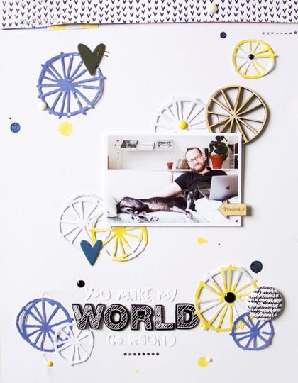 World scatteredconfetti scrapbooking layout kesiart sizzix cratepaper americancrafts studiocalico 1 original