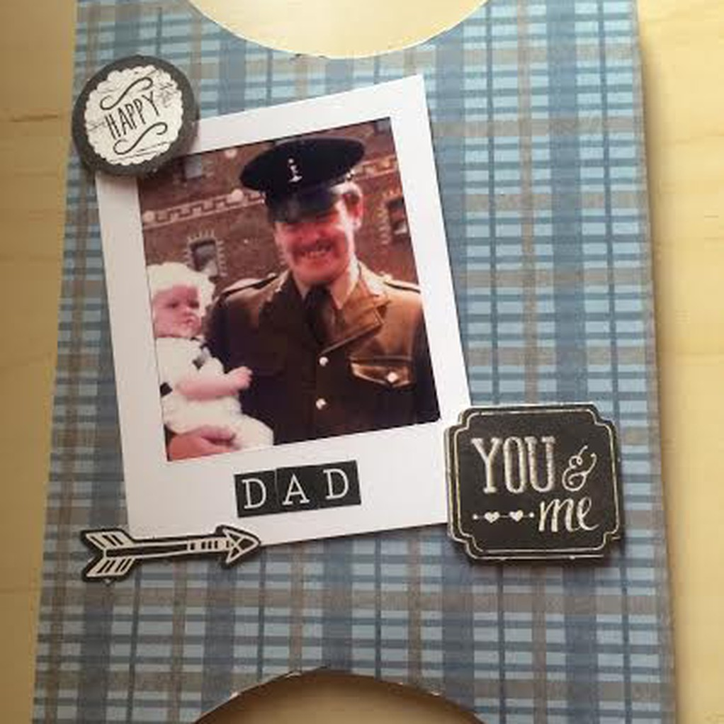 Card for dad original