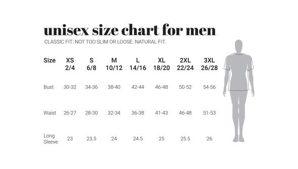 30a unisexmen sizecharts original