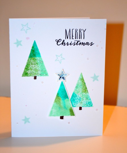 Merry christmas tree card wcmd 6 original