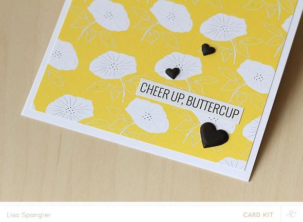 Trio buttercup closeup
