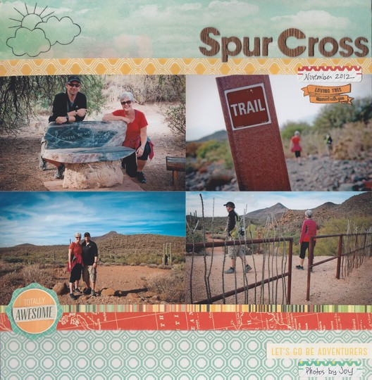 Spur cross1