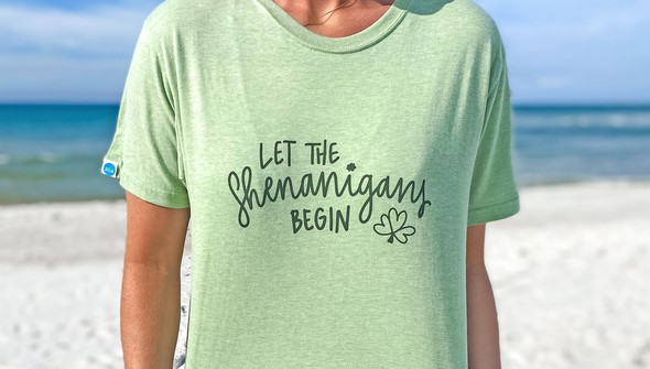134256  let the shenanigans begin short sleeve tee women sea green slider2 original