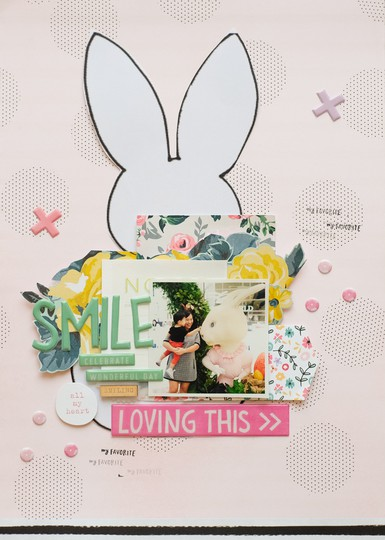Loving this easter layout by evelynpy original