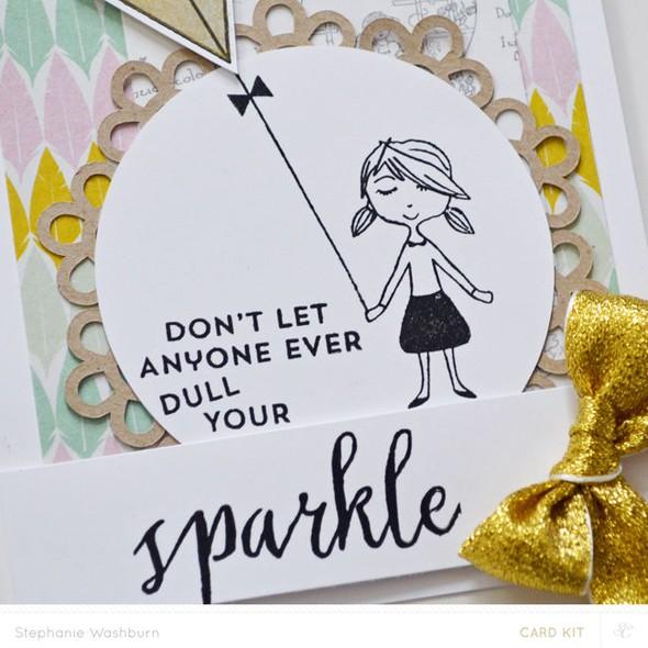 Card main sparkle (close)