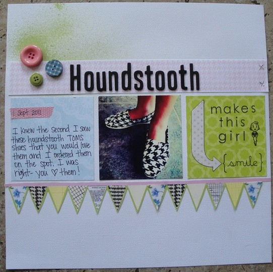 Houndstooth layout