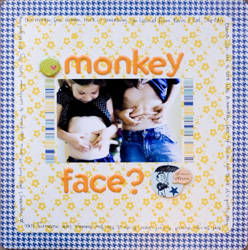 Monkey face small