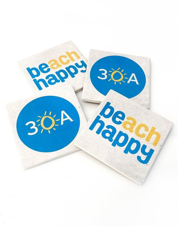 110940 30a  beach happy stone coasters slider 2 original