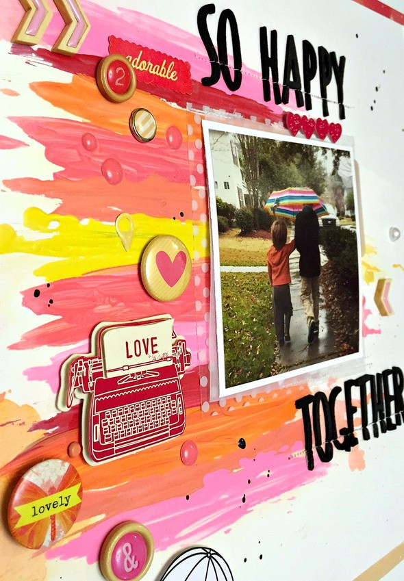So happy together layout   cu  paint texture
