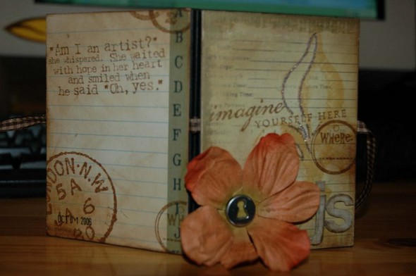Mini travel journal