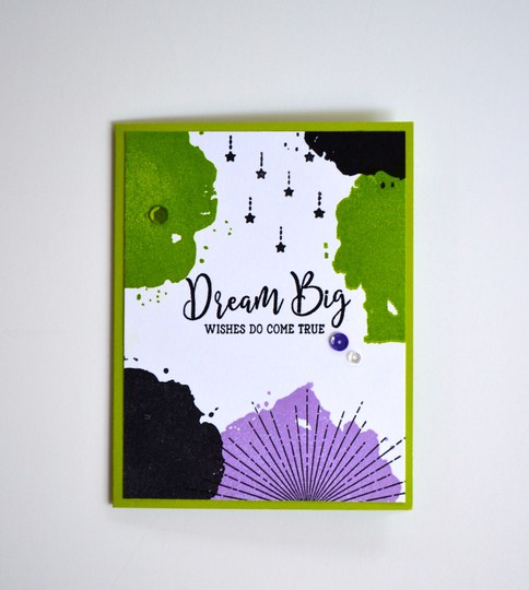 Dream big birthday card original