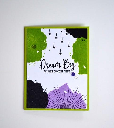 Dream big birthday card original