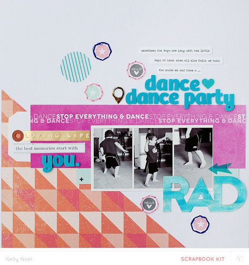 Dance party   studio calico office hours kit   kelly noel
