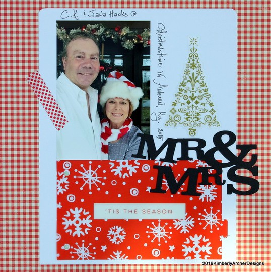 Mr mrs merry christmas original