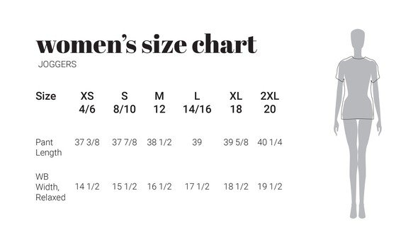30a sizecharts womenjoggers original