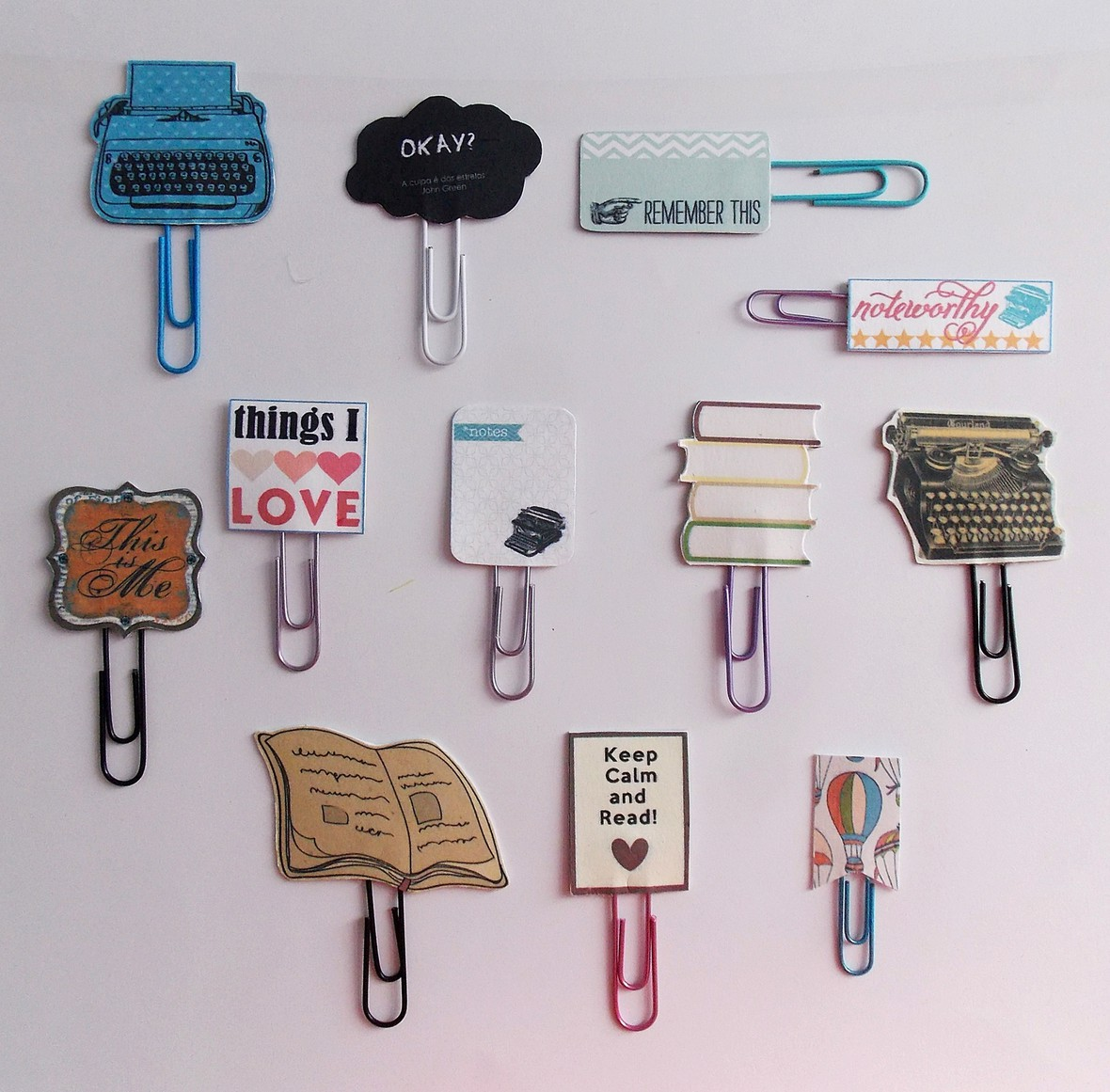 Clipes die cuts menor original