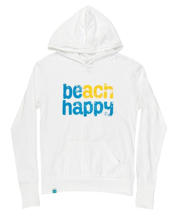 108507 beach happy pullover hoodie white women slider 4 original