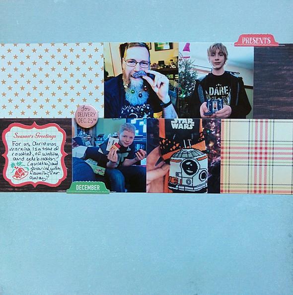 Christmas morn page 1 original