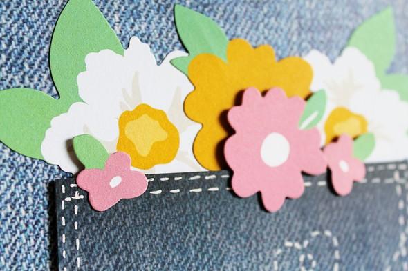 Chickaniddy crafts carson riutta thankful flowers closeup