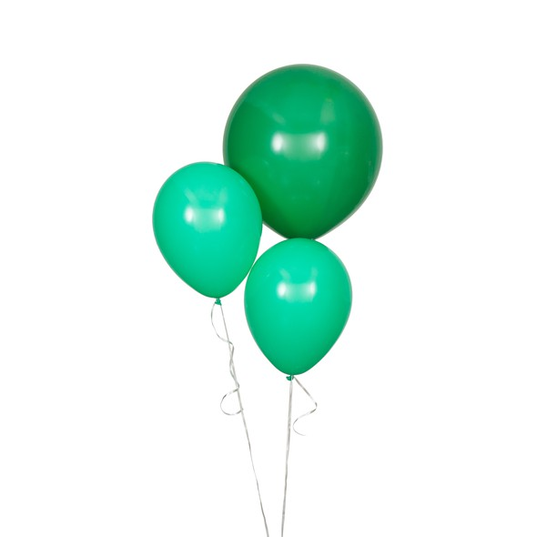 Sdiy shop balloons round dark green original