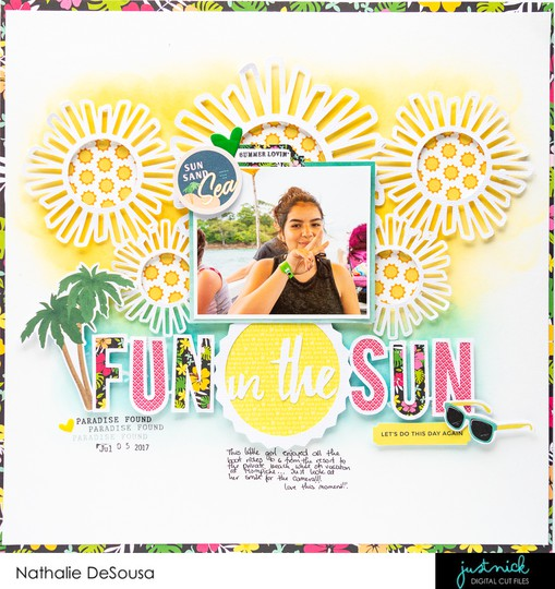 Jn fun in the sun nathalie desousa 2 original