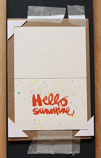 Hello sunshine1