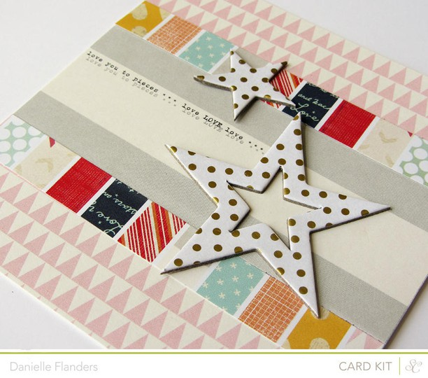 love you to pieces card main card kitdani  studio