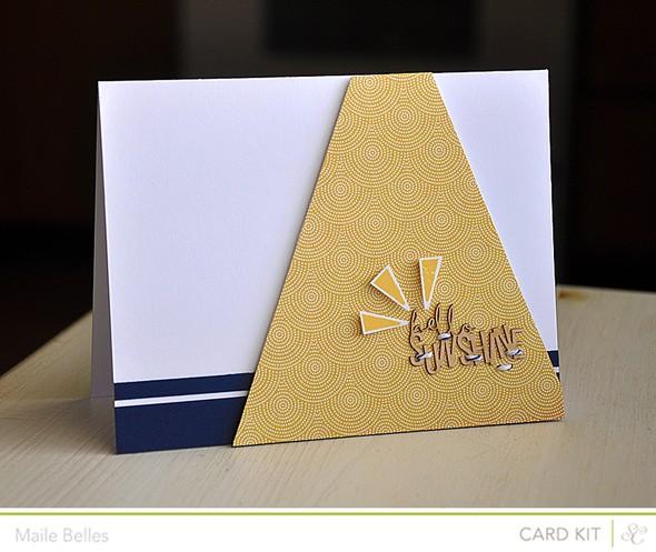 Hello sunshine card (card kit)