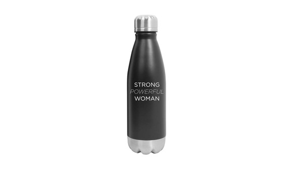 Strong powerful woman 16oz water bottle shop image 2644x1500 front original