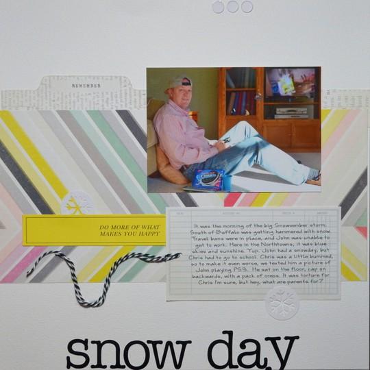 1 snowday