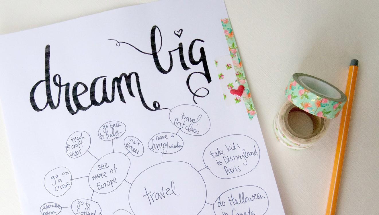 Dream big original
