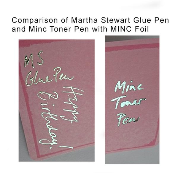 Pen compare original