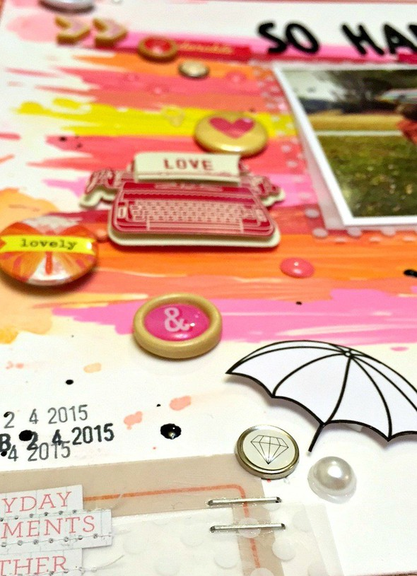 So happy together layout   cu  embellishments