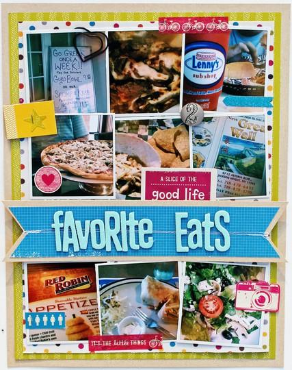 Favorite eats   layout