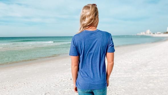 129009 if you love me take me to the beach short sleeve tee women navy slider4 original