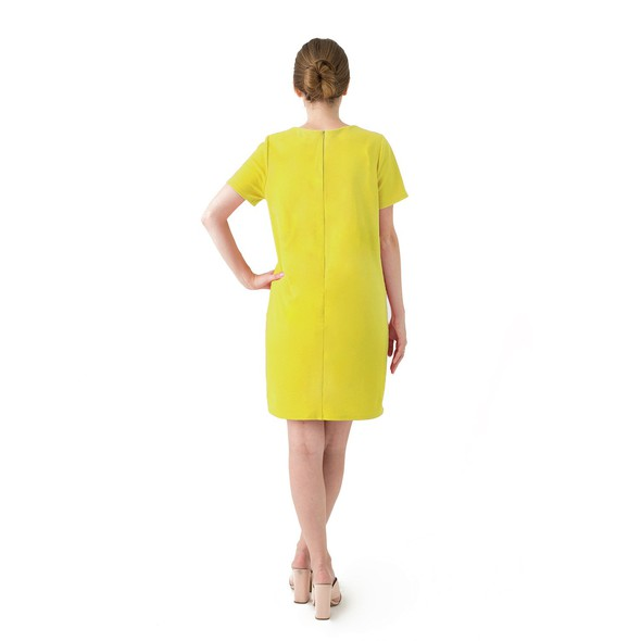 Yellow dress product listing backnew original original
