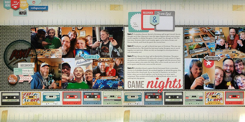Game nights by jennifer larson original