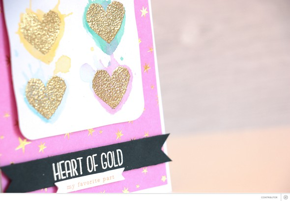Heart of gold detail original