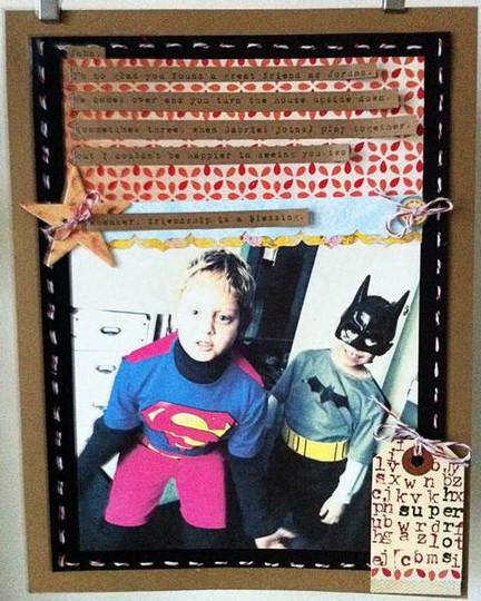 Superheros web