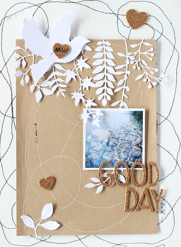 Sizzix leafdies layout 001 original