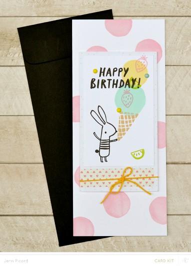 Happy birthday bunny original