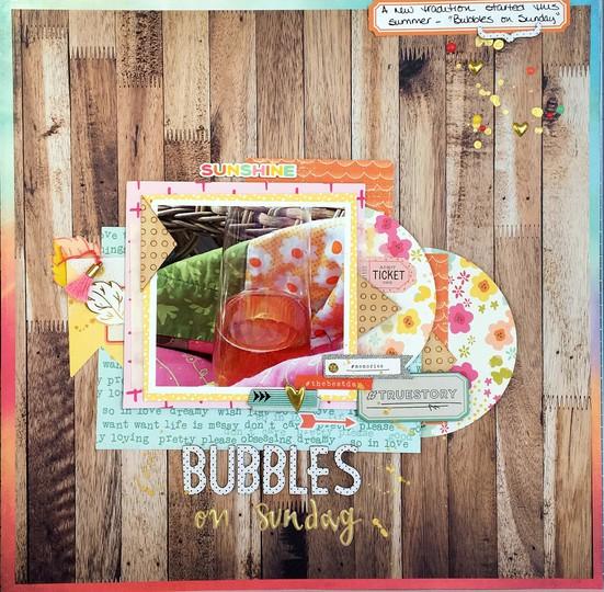 Bubbles on sunday 2 original