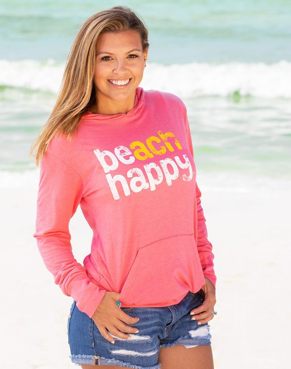 108631 beachhappypulloverhoodiemelon women slider1 original