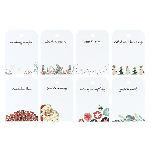 Picture of December Daily® 2019 3x4 Shipping Tags