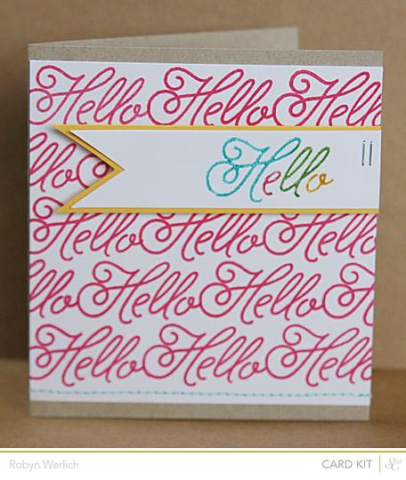 Card hello main rw