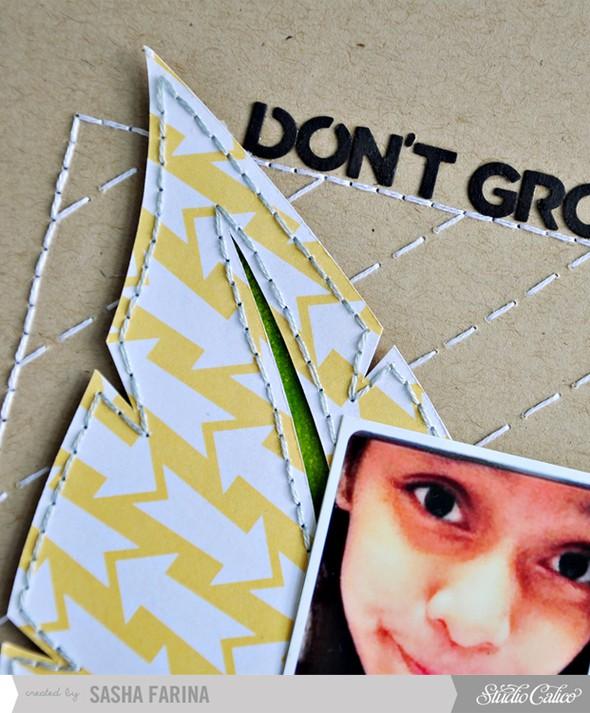 Dont grow away closeup