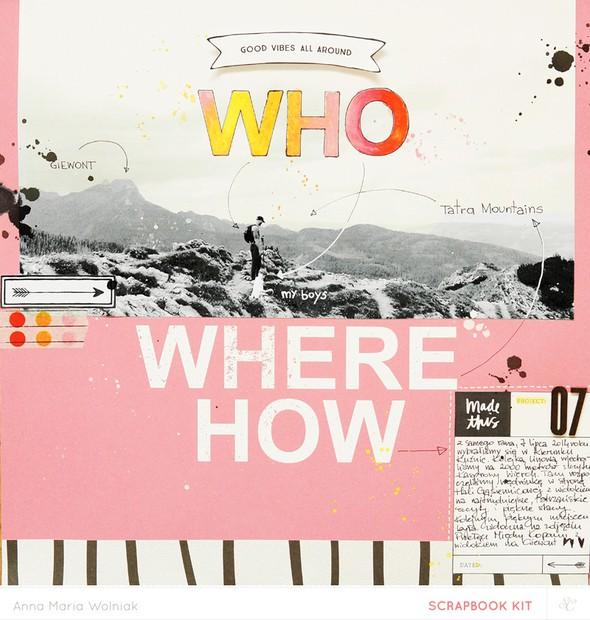 Who where how