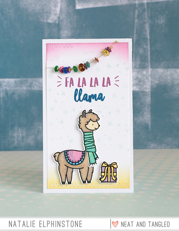 Fa la llama by natalie elphinstone original