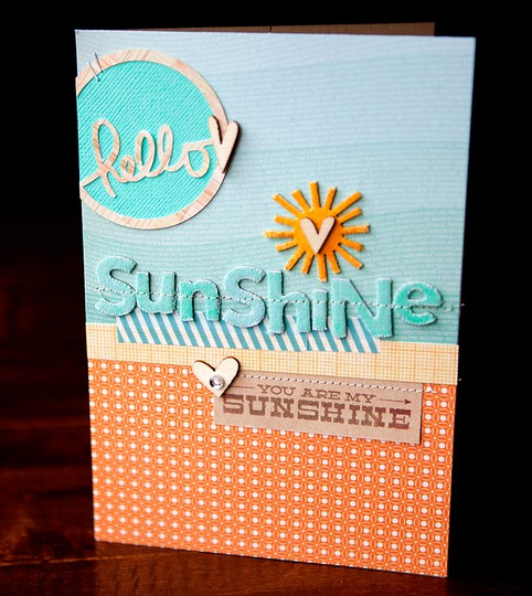 Sunshine card   susan weinroth