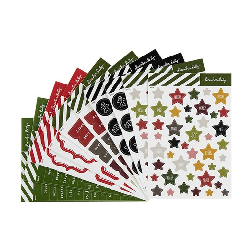 Picture of December Daily® Variety Sticker Bundle